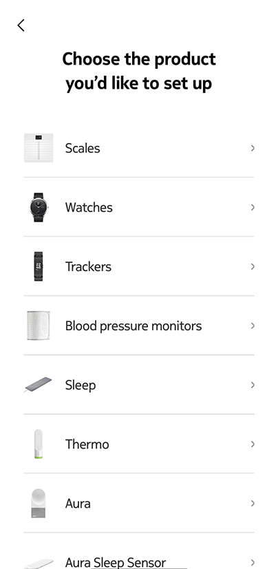 Body+ - Installing the scale - iOS procedure – Withings | Support